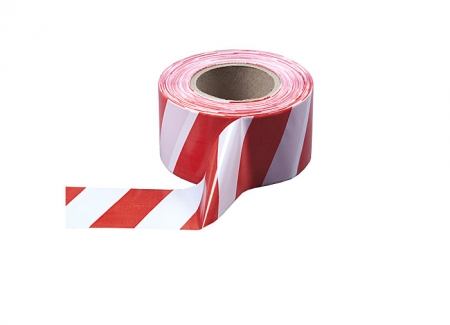 Оградительная красно-белая лента